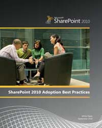 Sharepoint 2010 Adoption Best Practices by Microsoft Corporation